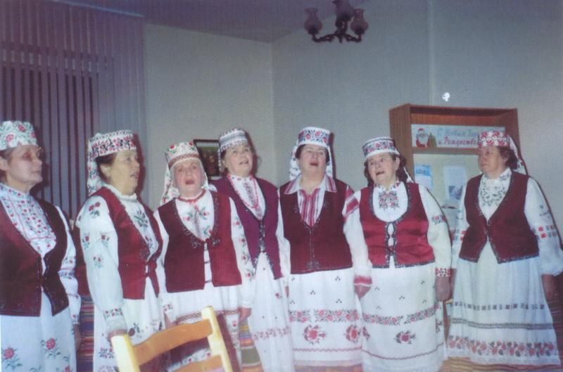 Брэсцкае тэлебачанне. Перадача «Перазовы» 1996 г.