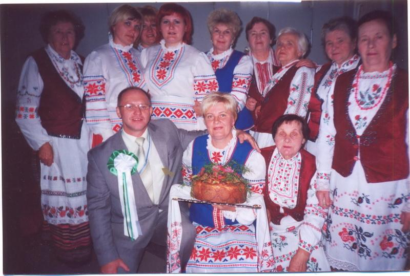 Гайнаўка (Польшча). Абрад «Дарэнне маладой» 2007 г.