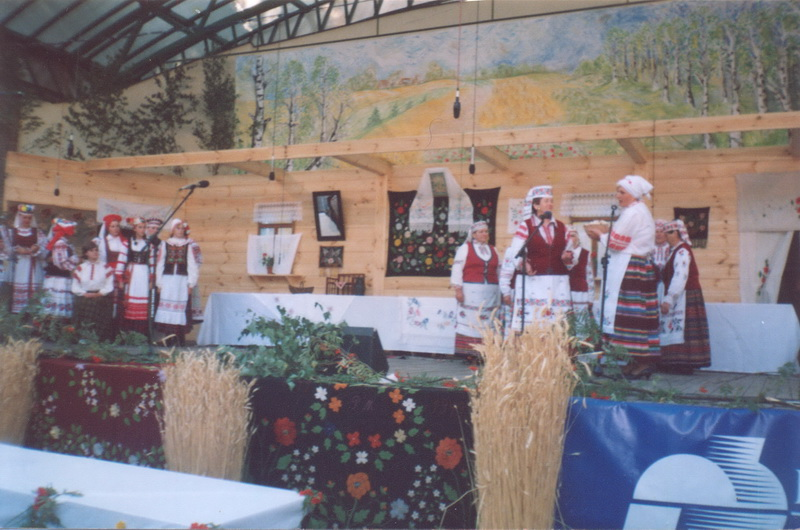 Гайнаўка (Польша). Абрад «Вяселле» 2005 г.