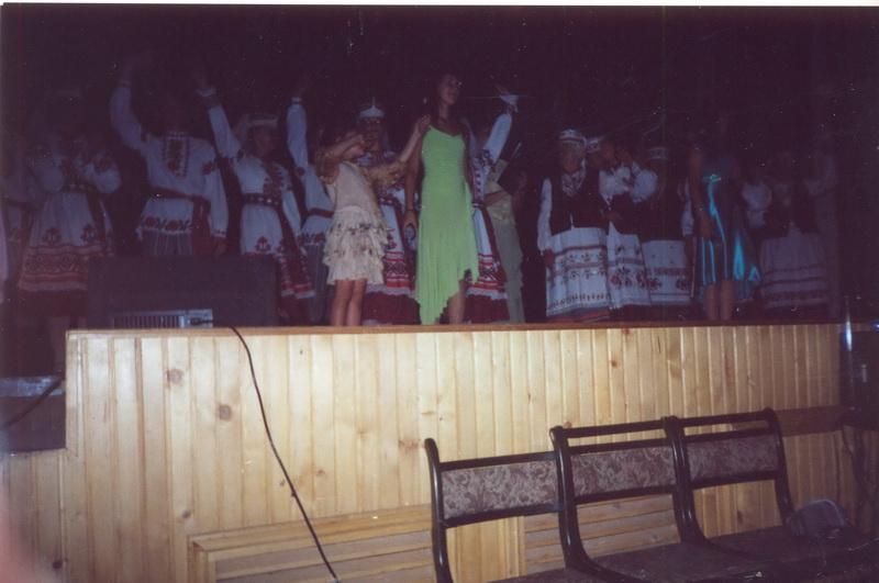 Гайнаўка (Польшча). Абрад «Каравай» 2007 г.