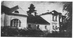 linowa dwor od ogorody, prezd 1939 r.