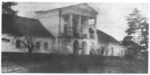 linowa dwor od podjazdy, prezd 1939 r.
