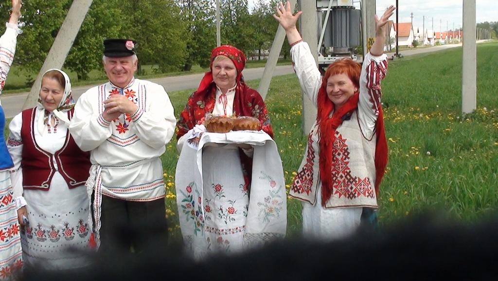 Юр'еўскі абрад «Абход поля» 2014 г.